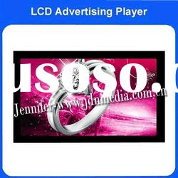 wall mounted lcd screen advertising indoor