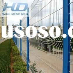 welded wire mesh fence,curved fence panel,metal grille fence