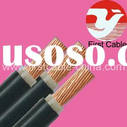 0.6/1 KV copper conductor xlpe insulated pvc sheathed power cable