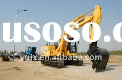 15 ton crawler excavator heavy construction machinery 0.55 m3 with air-condition
