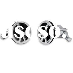 2011 fashion novelty stainless steel cufflink