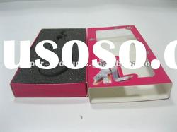 2011 hot product modern custom chinese red paper jewelry box pad