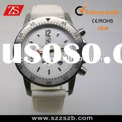 2012 Fashion Stainless Steel Watch with Silicone band