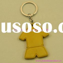 2012 Hot selling genuine keychain leather in clothes type