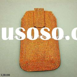 2012 New Design Leather Mobile Phone Bag for 4S