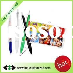 2012 New fashion advertising fly pen with your own design