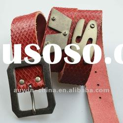 2012 Newest Designer Casual Big Studded Fashion Brands Ladies Belts