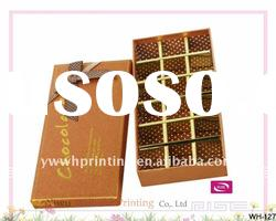 2012 Promotional Cardboard Packaging Gift Chocolate Box