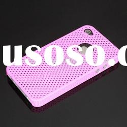 2012 fashion and practical chrome mesh case for iphone 4 4g 4s