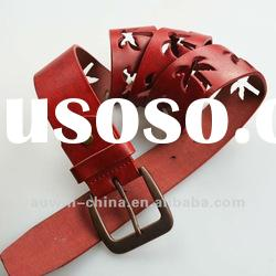 2012 fashion high quality real leather belt for women