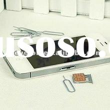 2012 hot sale SIM card Ejector Pin for iPhone cheap SIM card tool