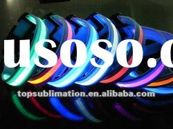 2012 new best selling flashing LED dog collar