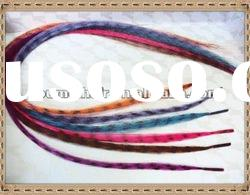 2012 new design hot sellingg synthetic feather hair extension
