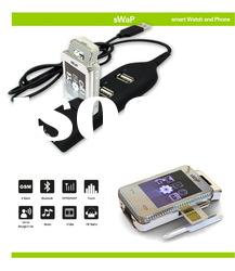 2012 sWaP Crystal built-in USB plug, most easy to charging mini mobile phone