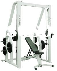 AMA-302B dual function smith machine commercial gym fitness equipment