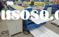 Automatic Cold Bending Roof Panel Roll Forming Machine XF30-200-1000