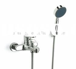 Bath wall mounted tub shower faucet mixer tap