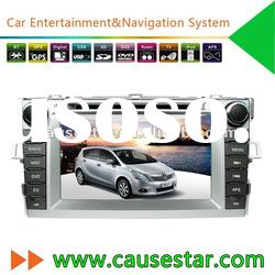 Cheap 2 Din 7 Inch Touch Screen Car DVD GPS for Toyota Verso with bluetooth,radio,video
