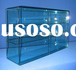 Clear Acrylic Floor Standing Display Showcase