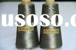 Conductive stainless steel fiber sewing thread