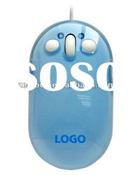 Custom logo 3D wired laptop mouse