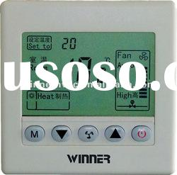 Digitalhotel room thermostat with 4-pipe