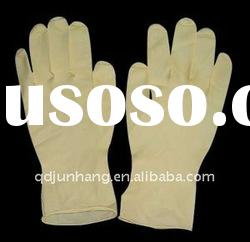 Disposable medical latex examination/surgical gloves