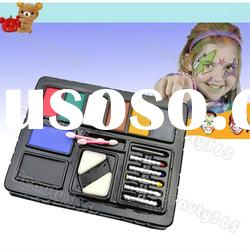 Funny Face Crayon Body Paint Ultimate Party Cosplay PACK KIT Painting Makeup Set