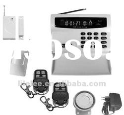 GSM 99Wireless and 7wired intelligent alarm,GSM alarm with LCD display and keyboard