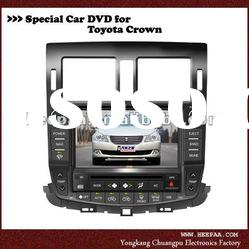 HEPA: 2din GPS for Toyota Crown Car DVD Player