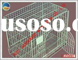HOT !!!!!! HOT !!!!! Hot selled Stackable and foldable warehouse wire mesh container