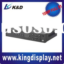 H.264 16ch digital video recorder for security cameras