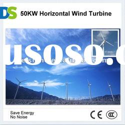 H 50KW Horizontal Axis Wind Power Generator