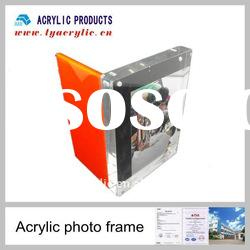 High quality special cool acrylic magnetic picture frame