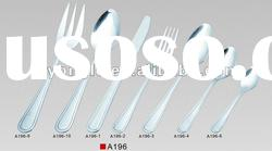 High quality stainless steel cutlery with hange card packing