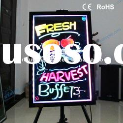 Hot product for 2012 pop led fluorescent writing board
