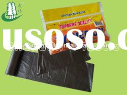 LDPE Recycled garbage bags on roll