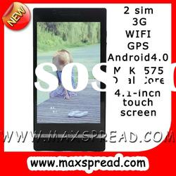 MAX-X26i Android 4.1-inch 3g wifi gps 2 sim cellphone