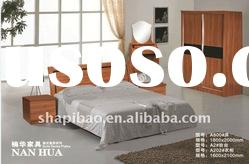 Modern home furniture high quality timber beds A 840