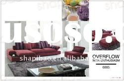 Modern style fabric corner sofa set hme furniture