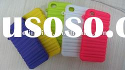 New Arrival rubber soft back cover caseFor iphone 4s 4g