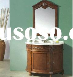 Offer solid wood bathroom cabinetry