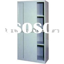 Office steel knock down filing cabinet with sliding door furniture