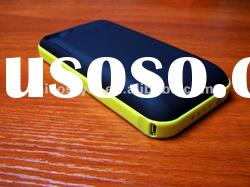 One Year Warranty 2000mAh Rechargeable juice pack plus Battery Case for iPhone 4