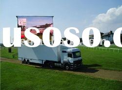 P10 Outdoor Full-color LED Trailer Advertising Mobile LED Billboards