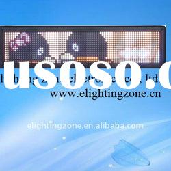 P12 indoor moving text led display with full color