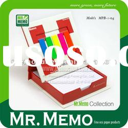 Photo frame with memo pad and PET strips for promotion