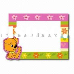 Plastic design photo frame