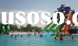Popular funny inflatable water amusement park in summer