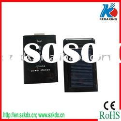 Portable solar cell chargers fit for mobile phone
